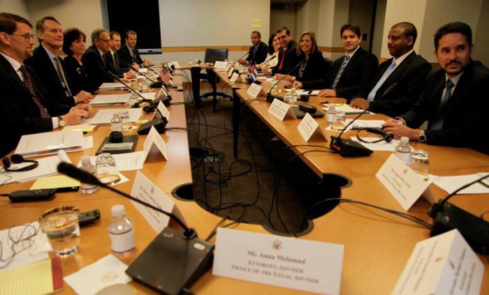 cuba, estados unidos, conversaciones oficiales, relaciones diplomaticas, ley de ajuste cubano, bloqueo a cuba