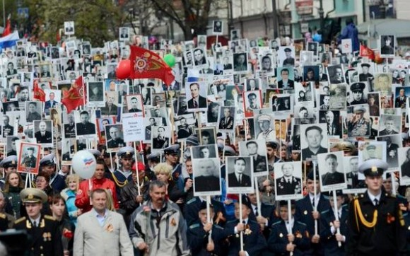 cuba, rusia, desfile militar, victoria sobre el fascismo, raul castro, vladimir putin
