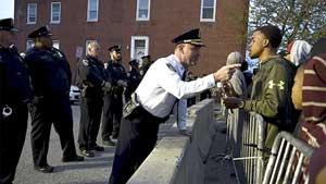 El hecho se suma a la hostilidad mostrada por la Policia contra los afroamericanos.
