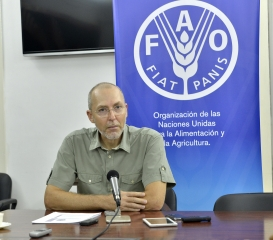 El representante de la FAO significó el rol del Estado para consolidar la seguridad alimentaria y nutricional.