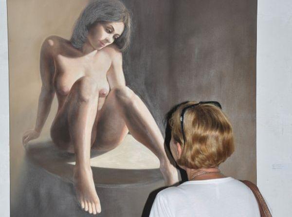 sancti spiritus, arte erotico, galeria de arte oscar fernandez morera