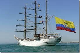 El buque escuela Guayas  realiza una visita oficial de tres días.