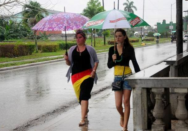 sancti spiritus, cuba, meteorologia, pronostico del tiempo, lluvias
