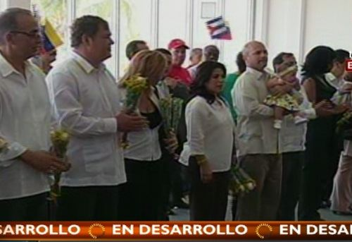cuba, los cinco, antiterrroristas cubanos, venezuela, nicolas maduro, hugo chavez, gerardo hernandez, ramon labañino, antonio guerrero, fernando gonzalez, rene gonzalez