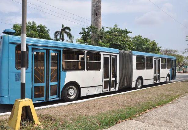 sancti spiritus, transporte, transporte urbano, omnibus urbanos