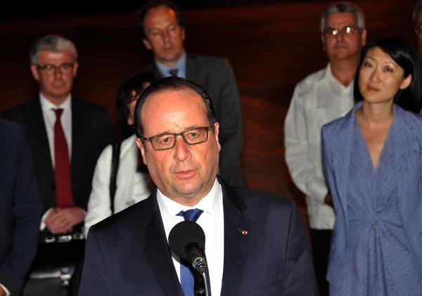 cuba, francia, raul castro, François Hollande