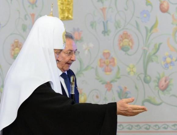cuba, rusia, patriarca ruso, raul castro, iglesia ortodoxa rusa