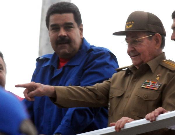 cuba, primero de mayo, los cinco, raul castro, nicolas maduro, venezuela, heroes cubanos, dia internacional de los trabajadores