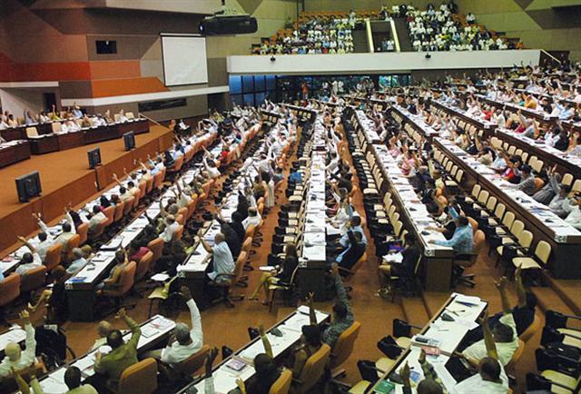 cuba, asamblea nacional del poder popular, parlamento cubano, esteban lazo