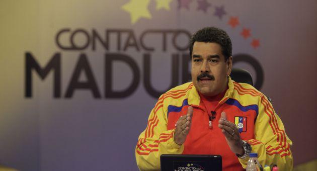 """""""Hay que evitar la despolitización, porque eso va en contra del pueblo"""", aseguró Maduro."""