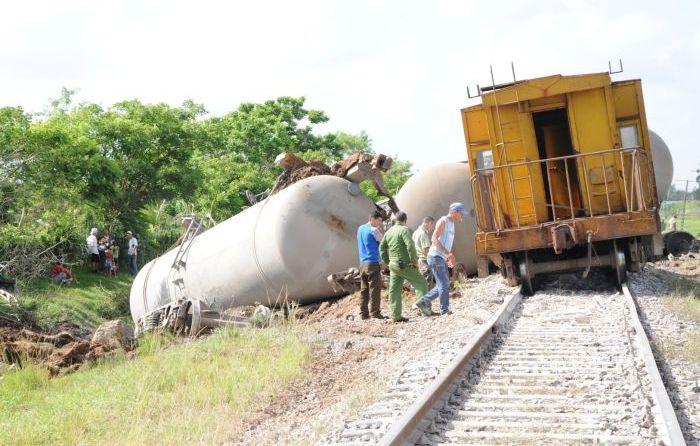 sancti spiritus, accidente ferroviario