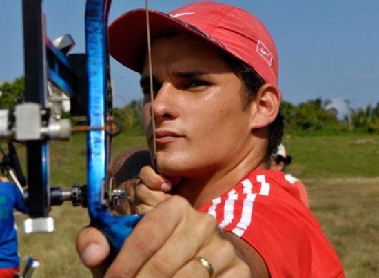 sancti spiritus, cuba, deportes, adrian puentes, tiro con arco, juegos panamericanos y del caribe, toronto 2015