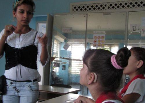 sancti spiritus, educacion especial, enseñanza especial, educacion cubana