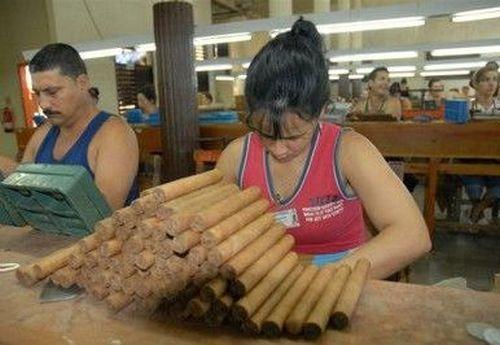 sancti spiritus, tabaco, tabaco torcido, fabrica de tabaco torcido, exportaciones