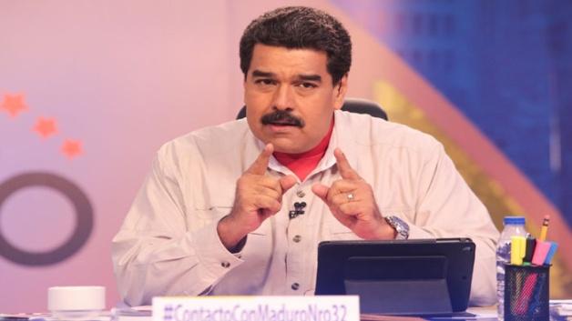 Maduro alentó a la población y los medios a apoyarlo en esa cruzada contra la violencia.