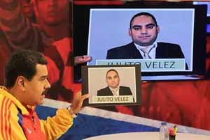 Maduro habia anunciado que las investigaciones realizadas en Venezuela apuntan hacia Vélez como el principal sospechoso de la autoría intelectual del crimen.