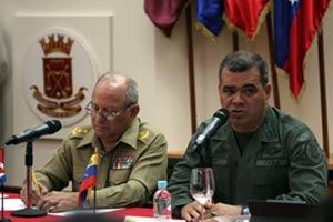 La rúbrica del documento corrió a cargo del ministro venezolano para la Defensa, Vladimir Padrino, y el titular de las FAR de Cuba, Leopoldo Cintra.