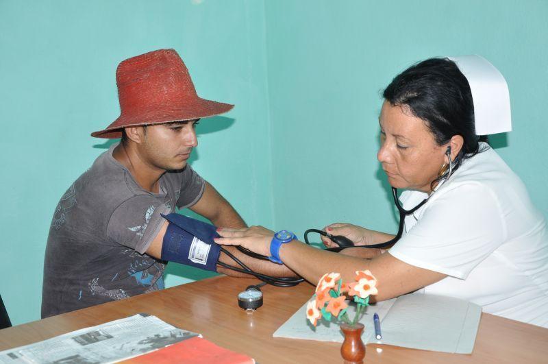 Los consultorios médicos disponen de mobiliario nuevo y lucen mejor estado constructivo. Fotos Vicente Brito.