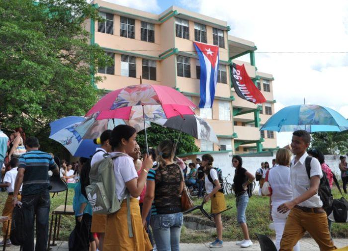 sancti spiritus, educacion, educacion cubana, educación en sancti spiritus, fiestas de fin de curso, curso escolar