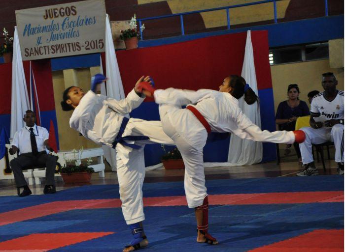 sancti spiritus, juegos escolares nacionales, karate