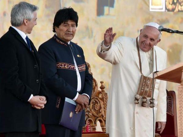 bolivia, papa francisco, santo padre, jefe del estado vaticano