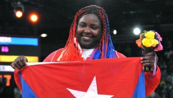 Idalis Ortiz conquistó la medalla de oro de los más de 78 kilogramos.
