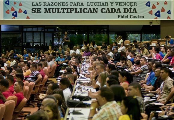 cuba, union de jovenes comunistas, ujc, x congreso de la ujc, raul castro, antiterroristas cubanos, heroes cubanos