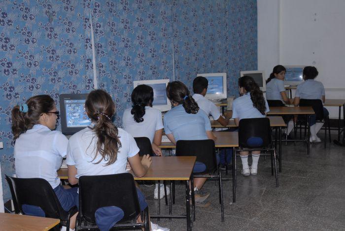 sancti spiritus, educacion cubana, enseñanza tecnica, secundaria basica, computacion