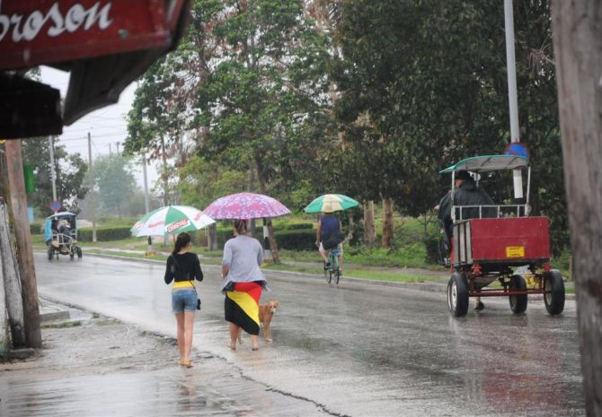 sancti spiritus, tormenta local severa, pronostico del tiempo, lluvias,