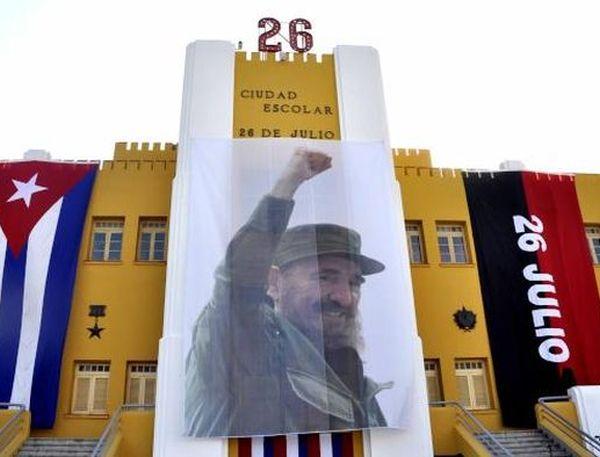 Quiero rendirle tributo a Fidel y a su largo andar por nuestros pueblos, despertándonos.  (foto: AIN)