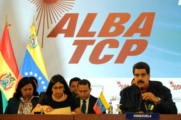 Maduro definió al Alba-TCP como un gran motor del nuevo mundo.