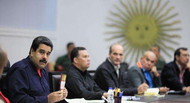 Maduro llamó a los venezolanos a unirse en defensa de la paz y de la estabilidad del país.