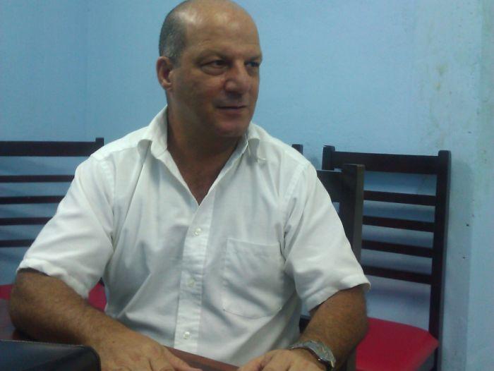Doctor Gilberto Hernández Sorí, subdirector de Epidemiología del CPHEM. Foto Vicente Brito.