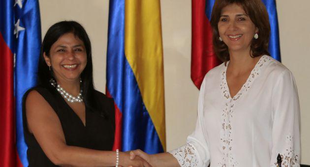 Venezuela y Colombia acordaron construir en conjunto una nueva frontera productiva y de paz. (Foto EFE)