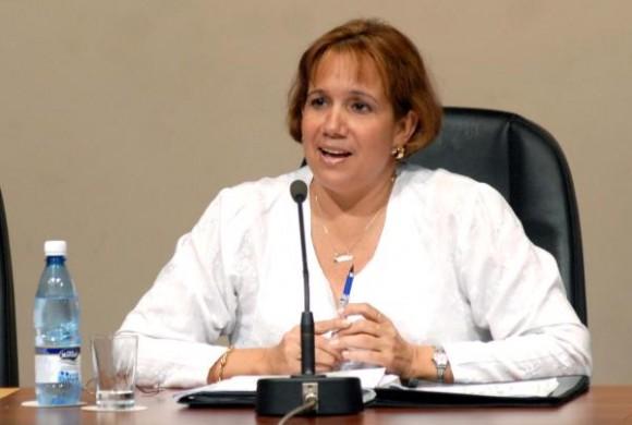 Ana María Mari Machado, vicepresidenta de la Asamblea Nacional del Poder Popular, presidirá la delegación cubana.