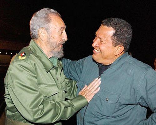cuba, fidel castro, lider de la revolucion cubana, hugo chavez, venezuela