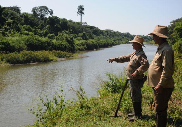 sancti spiritus, cocodrilos, rio zaza, medio ambiente