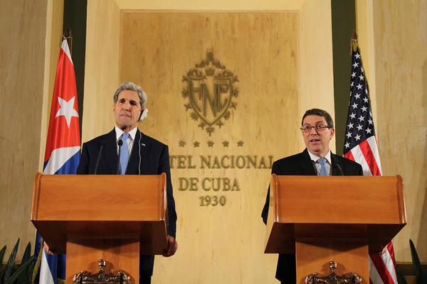 cuba, estados unidos, john kerry, bruno rodriguez, relaciones diplomaticas