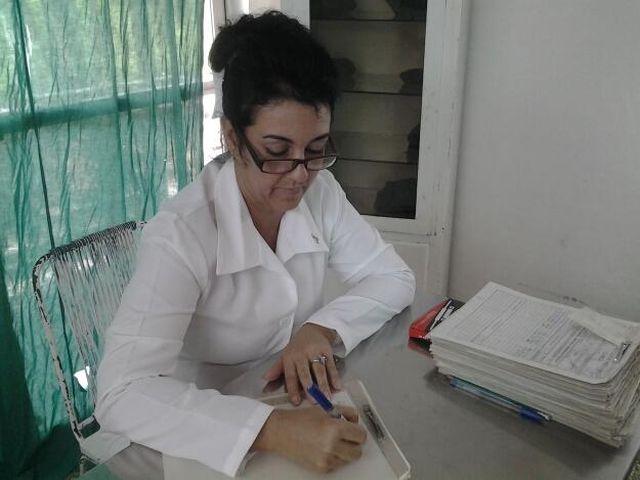 Dania es enfermera fundadora del sanatorio La Rosita.