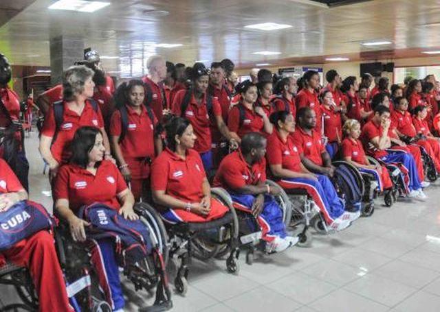 cuba, atletas cubano, toronto, juegos parapanamericanos