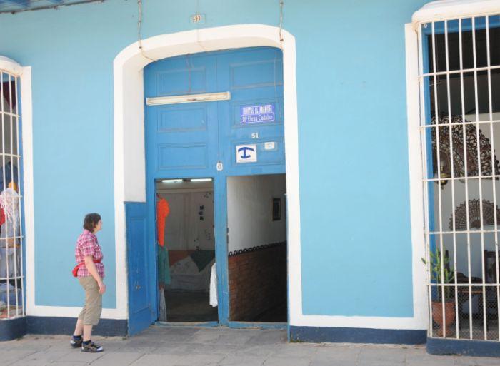 sancti spiritus, turismo, turismo cubano, hostales en trinidad, sector no estatal