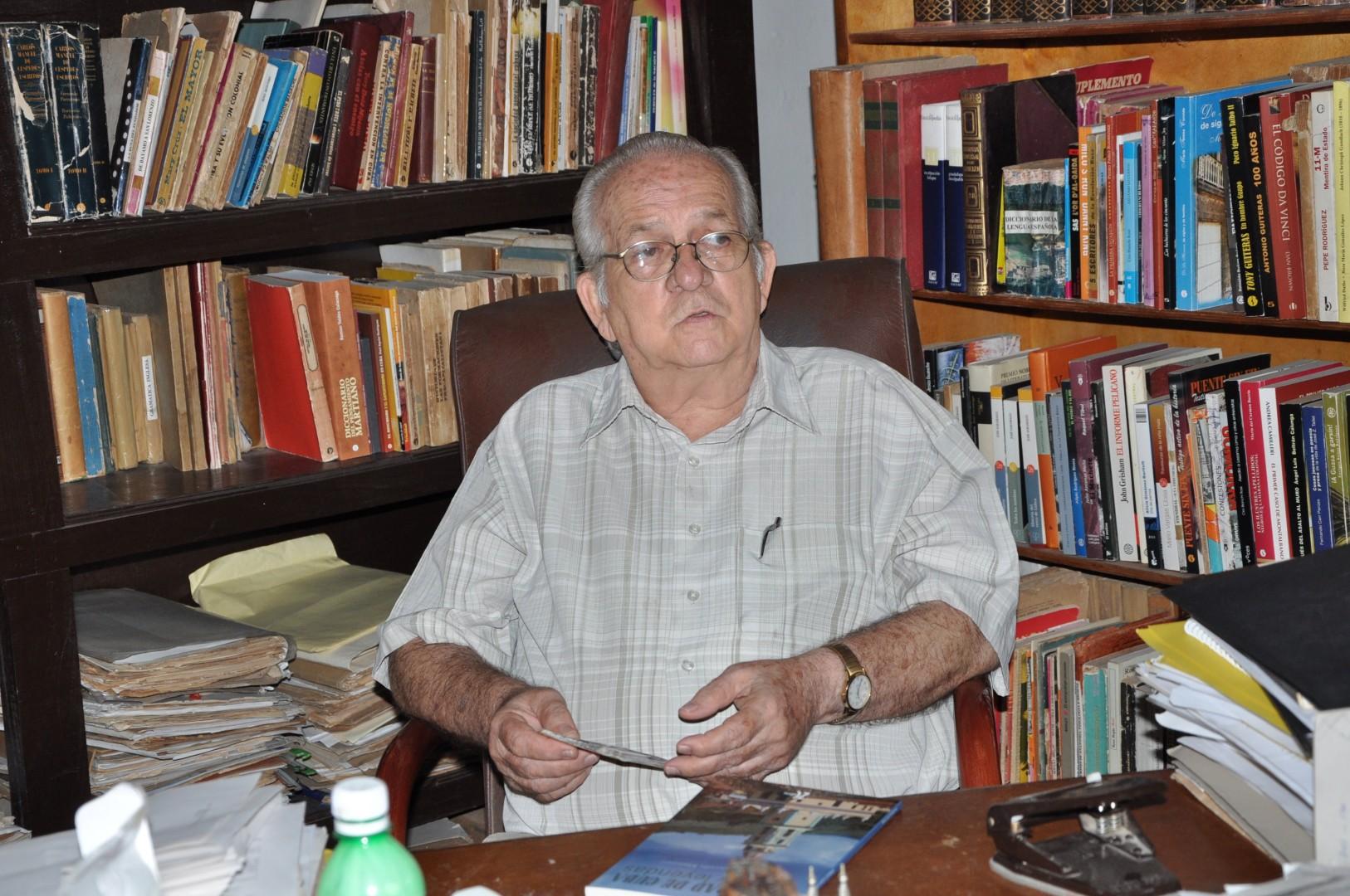El historiador de la ciudad de Trinidad, Manuel Lagunilla, ha hurgado en la huella científica y patriótica de Vicente Antonio.