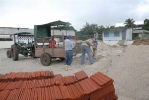 Serán examinados en todo el país la producción y venta de materiales de construcción en cada localidad.