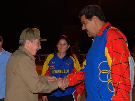 cuba, raul castro, venezuela, nicolas maduro