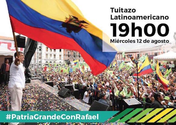 Latinoamérica respalda al Gobierno de Rafael Correa en las redes sociales.