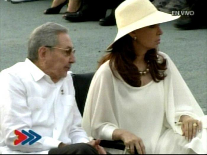 La presidenta argentina llegó ayer a Cuba para asistir a la misa del Papa Francisco.
