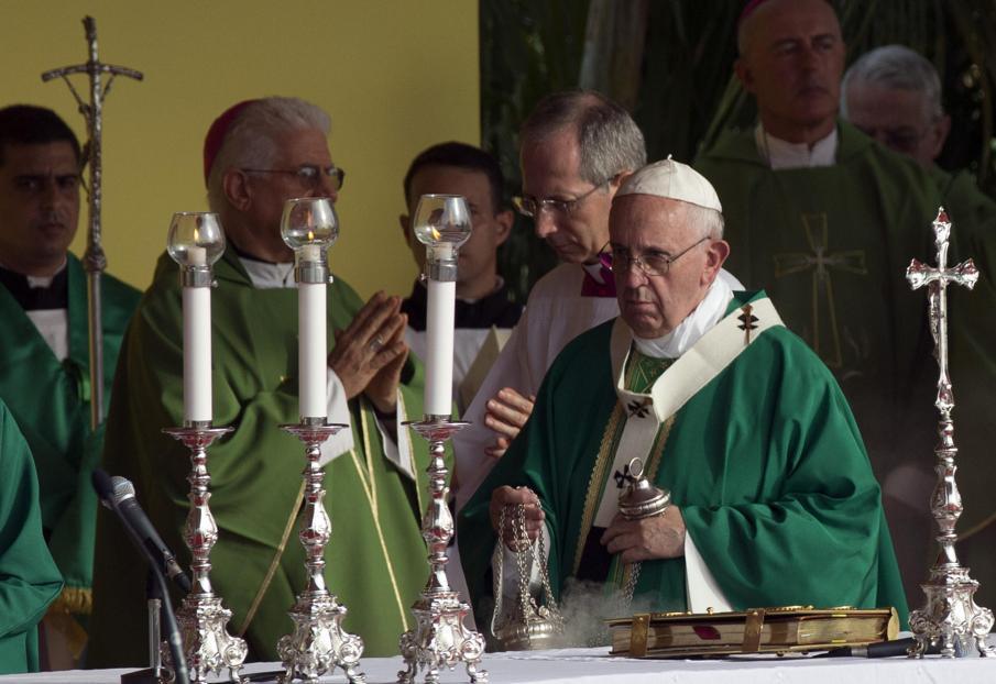 cuba, la habana, plaza de la revolucion, papa francisco, papa fracisco en cuba, raul castro, cristina fernandez, sumo pontifice