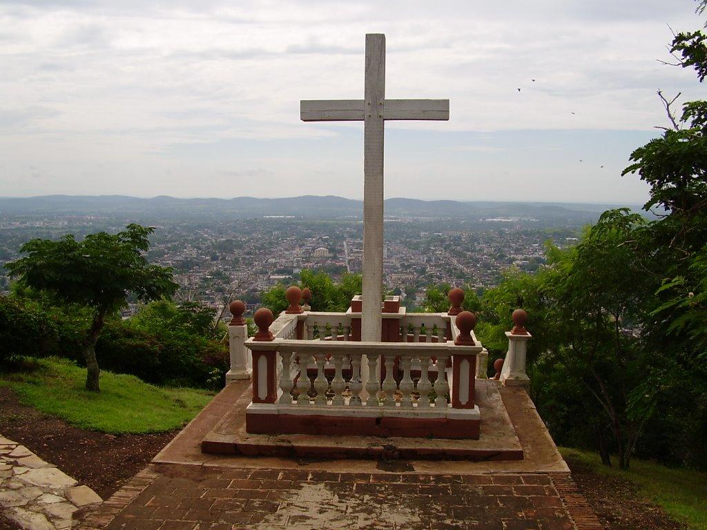 La Loma de la Cruz será uno de los sitios visitados por el Papa en Holguín. (Foto: Rolando Pujol)