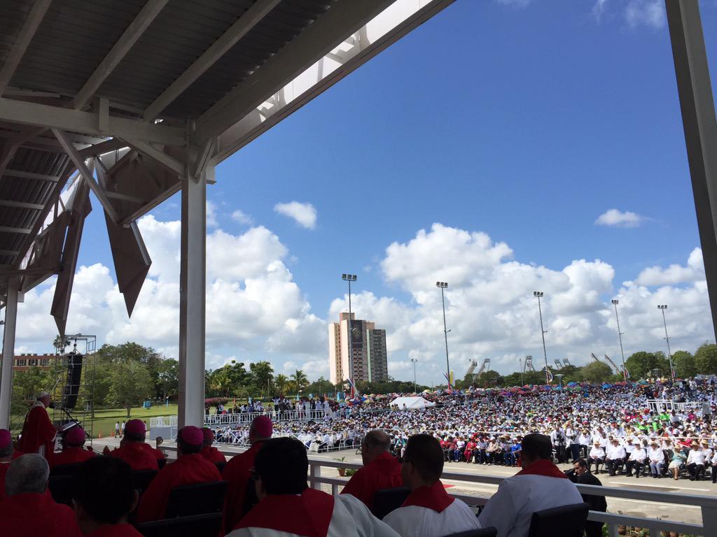 Misa del Papa Francisco en Holguín.