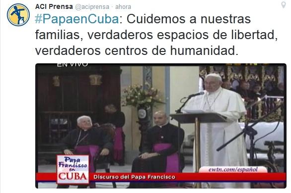 Tuit de @ACIPrensa